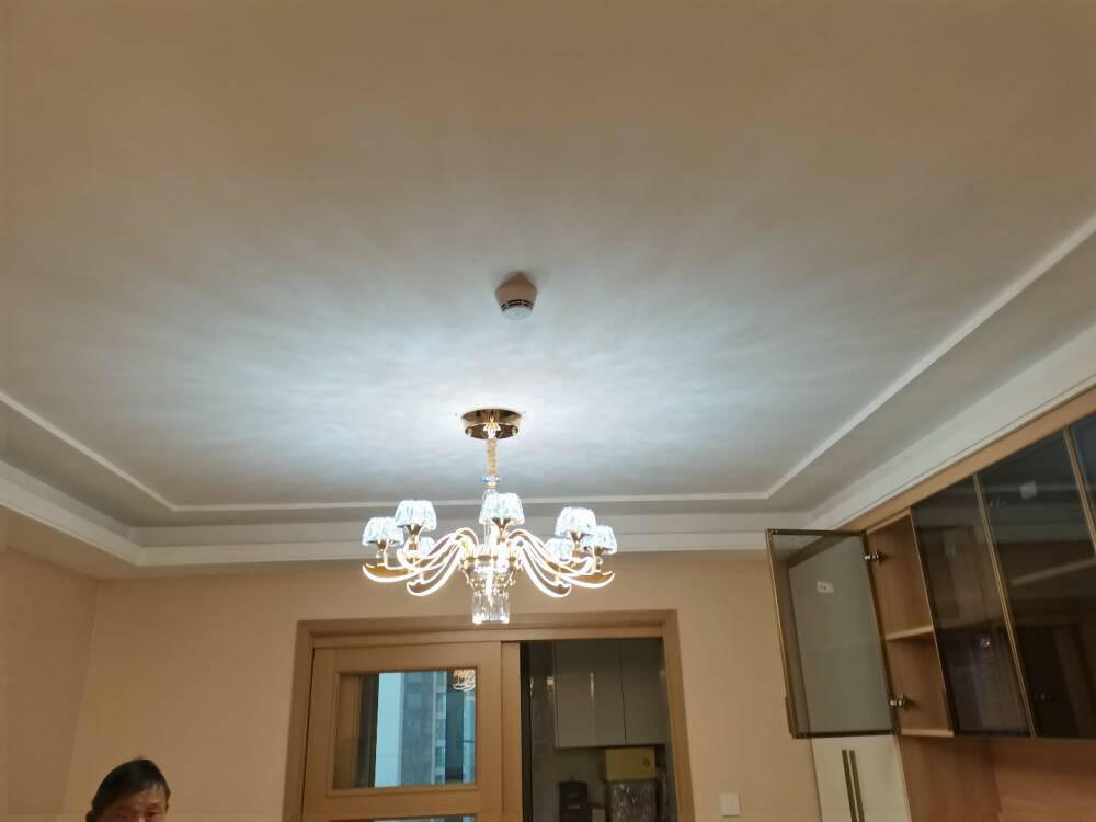 现瑞(XIANRUI)客厅吊灯2021年新款现代轻奢水晶灯奢华大气餐厅大厅别墅灯臂发光灯欧式吊灯土豪金6头+LED三色调光