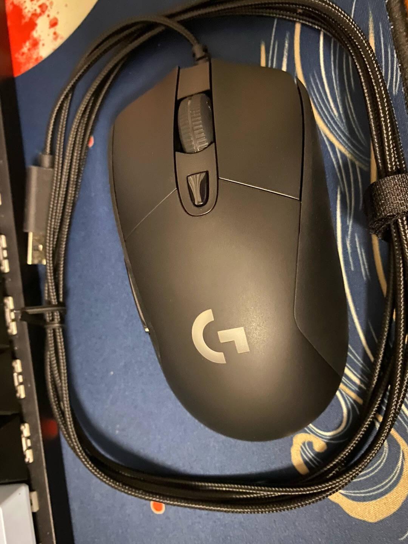 罗技(G)G403游戏鼠标HERO升级版有线鼠标RGB吃鸡鼠标绝地求生25600DPIFPS鼠标压枪怪