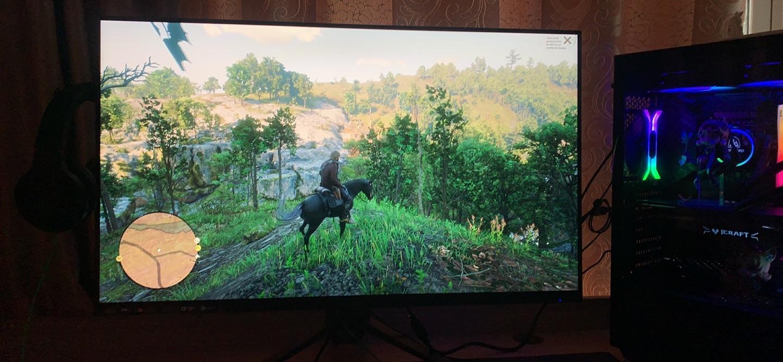 优派黑豹31.5英寸2K显示器,符合电竞游戏用