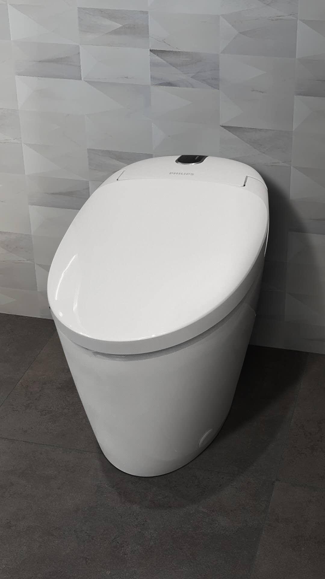飞利浦(PHILIPS)智能马桶一体机即热全自动暖风烘干一键洗烘全功能智能坐便器AIB6320/93305坑距