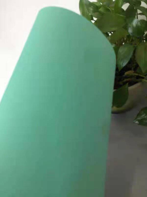 BUBM负离子写字垫键盘垫超大鼠标垫家用书房桌面学生作业学习台儿童硬面防水皮质办公书写桌硅胶垫子绿色600x300mm