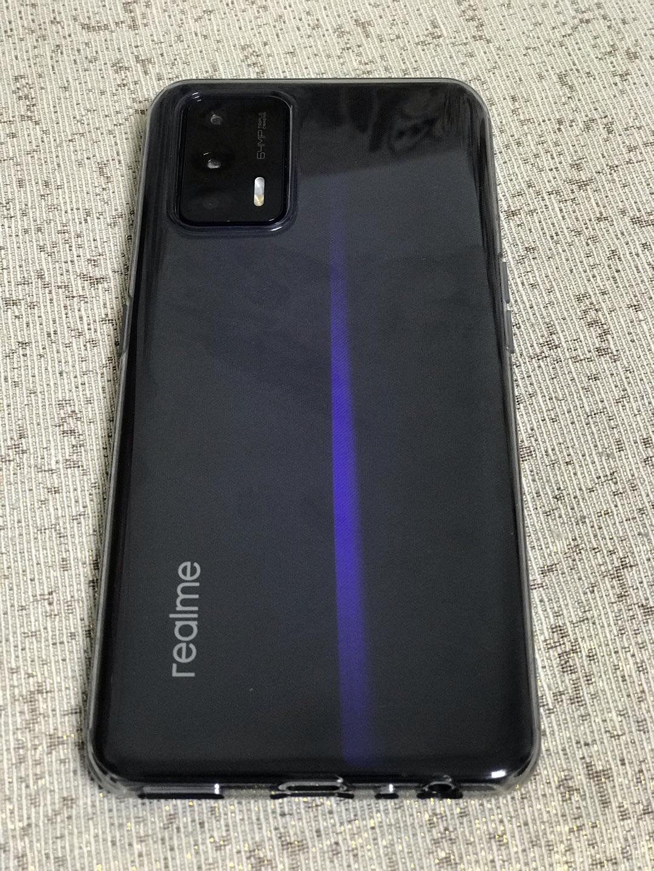 真我GT骁龙888智能手机,深海飞艇配色