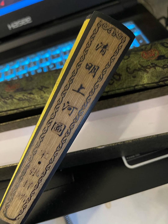 极度空间扇子折扇男古风古典中国风空白题字书法宣纸扇