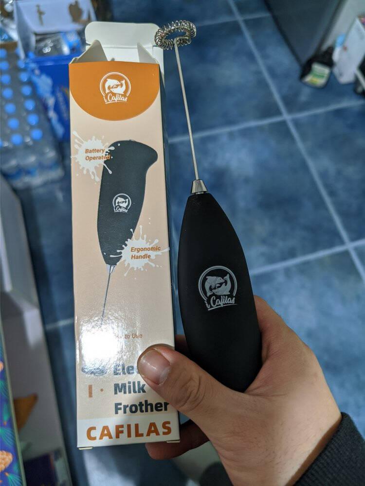 便携电动打奶泡器咖啡奶泡机家用迷你冷奶泡手持发器便携电动打奶器