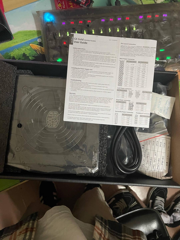 酷冷至尊(CoolerMaster)额定750WGX750金牌全模组电源(支持双CPU主板/日系电容/50℃无损输出/五年质保)