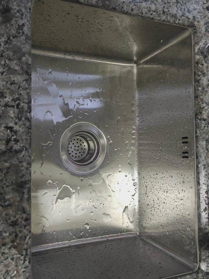莱恩博特厨房304不锈钢手工拉丝加厚单槽水槽套餐大单槽洗菜盆洗碗池50*40加厚钢-304抽拉龙头-C套餐