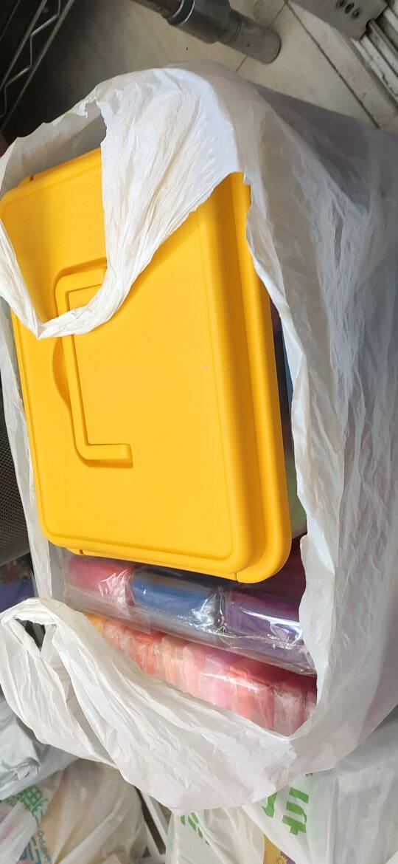 得力(deli)36色超轻粘土儿童玩具黏土彩泥橡皮泥美术手工DIY制作太空沙收纳箱套装67849