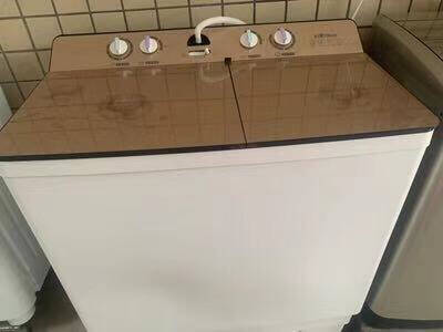 长虹22公斤大容量半自动双桶双杠洗衣机10KG家用25/30/32kg大型工业酒店宾馆家商用干洗店32公斤纯铜加厚电机+大家庭商用