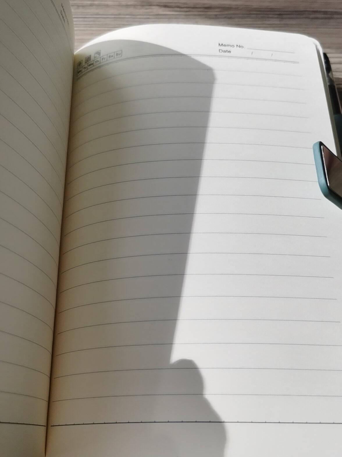 简勋a5笔记本子简约加厚皮面商务记事本b5商务高档精致工作会议日记学生记录本可定制LOGO办公文具A5浅蓝【单本款】