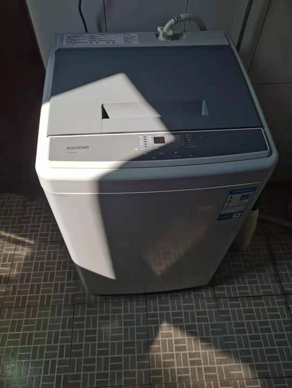 容声(Ronshen)8公斤波轮洗衣机10大洗涤程序XQB80JD