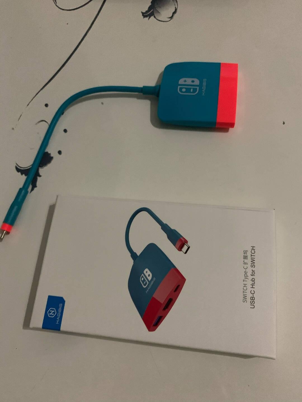 海备思Switch便携底座ns配件任天堂视频转换器扩展坞type-c接电视HDMI高清拓展电脑电视【SWC01】黑灰色