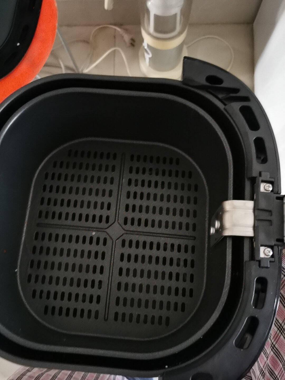 飞利浦(PHILIPS)空气炸锅无油低脂多功能4.1L大容量海星底盘减少90%油脂4倍速热HD9200/91