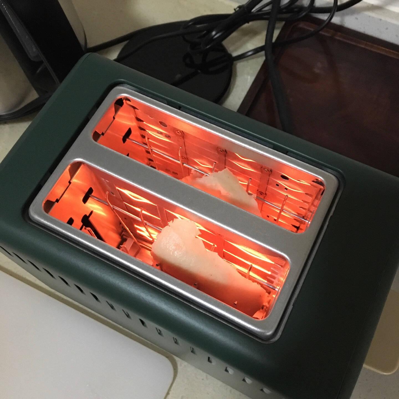 九阳Joyoung面包机多士炉家用烤面包早餐机三明治机吐司加热机KL2-VD91(绿)