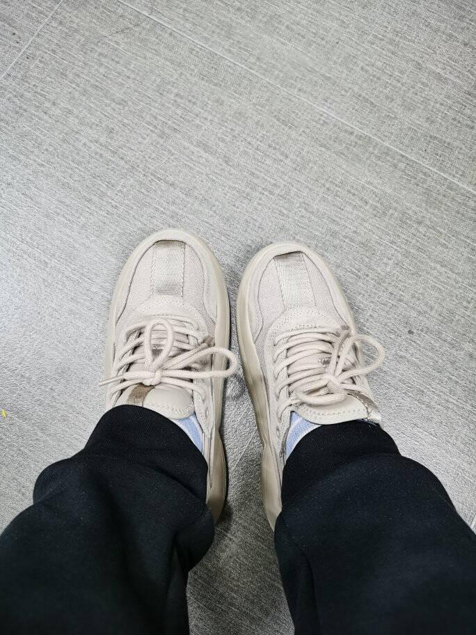 UGG2021春季新款(男女同款)老爹鞋女小白鞋单鞋舒适休闲街拍百搭运动鞋慢跑鞋1107945JGL|香芋紫38