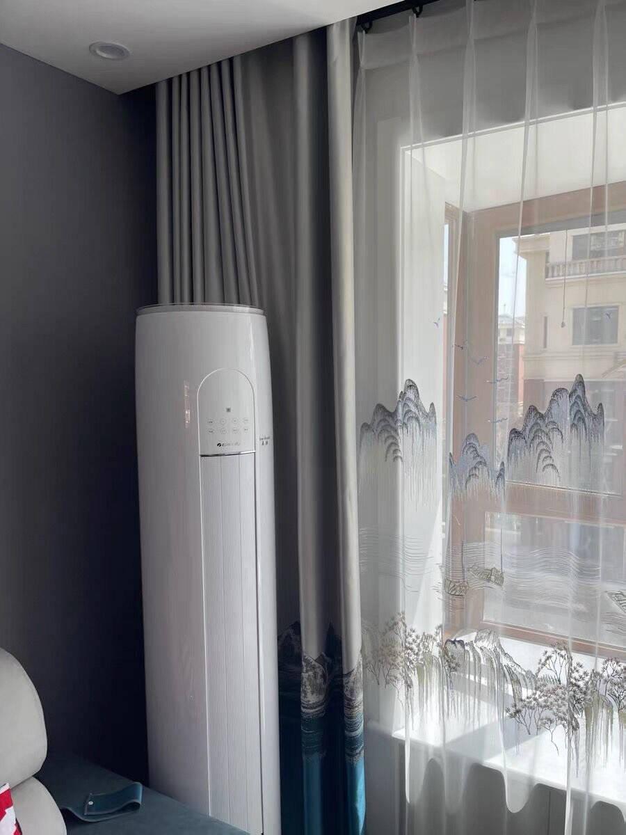 新国标·格力(GREE)天丽系列3匹变频一级节能净菌自洁制热防冷风静音圆柱柜机72530皓雪白3匹
