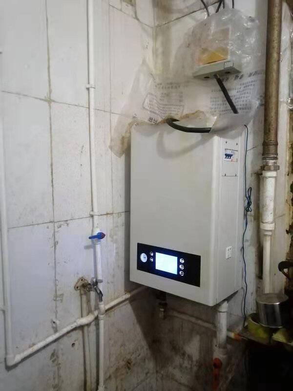 【大礼包】盛亚迪电锅炉家用电采暖炉农村煤改电暖锅炉220V变频节能电壁挂炉采暖地暖暖气带WIFI白色6kw采暖面积60㎡220v