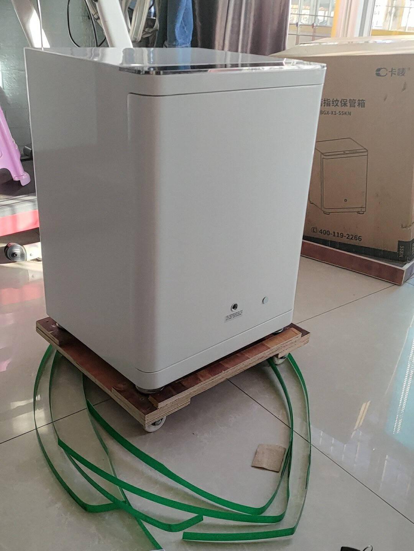 卡唛(CRMCR)高55cm指纹密码小米iot智能连接保管柜办公家用收纳床头柜(BGX-X1-55KN)