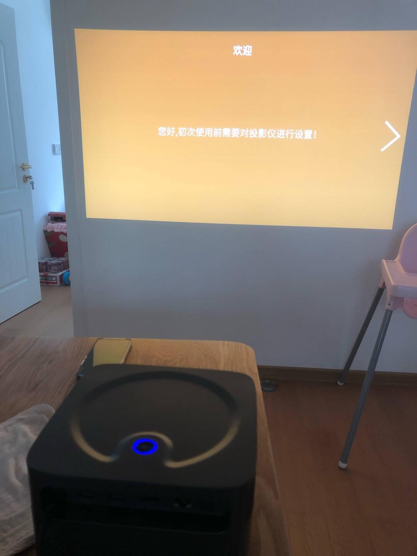 OBE大眼橙NEWX7D投影仪家用投影机智能家庭影院(6大升级0.47dmd1200ANSI全自动梯形校正自动对焦)