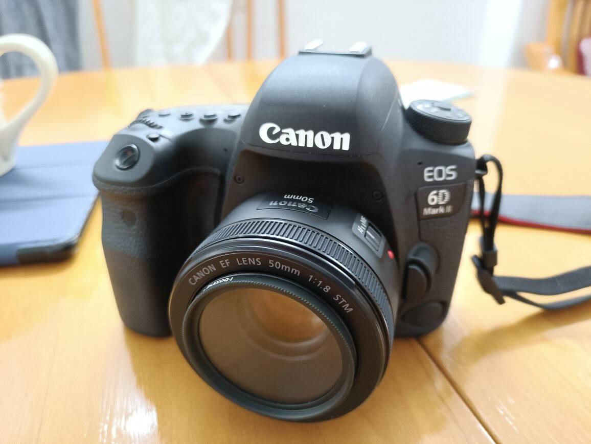 佳能(Canon)EF50mmf/1.8STM单反镜头小痰盂标准定焦人像大光圈镜头(含艾博森UV)