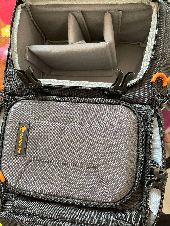 TARION德国相机包大容量单反双肩背包专业摄影包多功能单反包PBL专业相机包黑