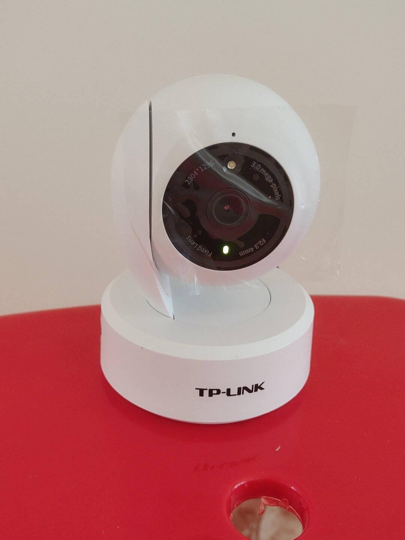 TP-LINK无线监控摄像头2K超清全彩300万像素家用智能网络监控器摄像机360全景wifi手机远程IPC43AW