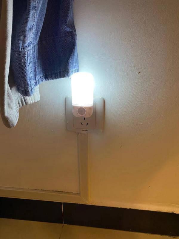 心有所属插电小夜灯卧室床头灯母婴哺乳起夜灯喂奶婴儿灯儿童伴睡灯夜光灯插座壁灯