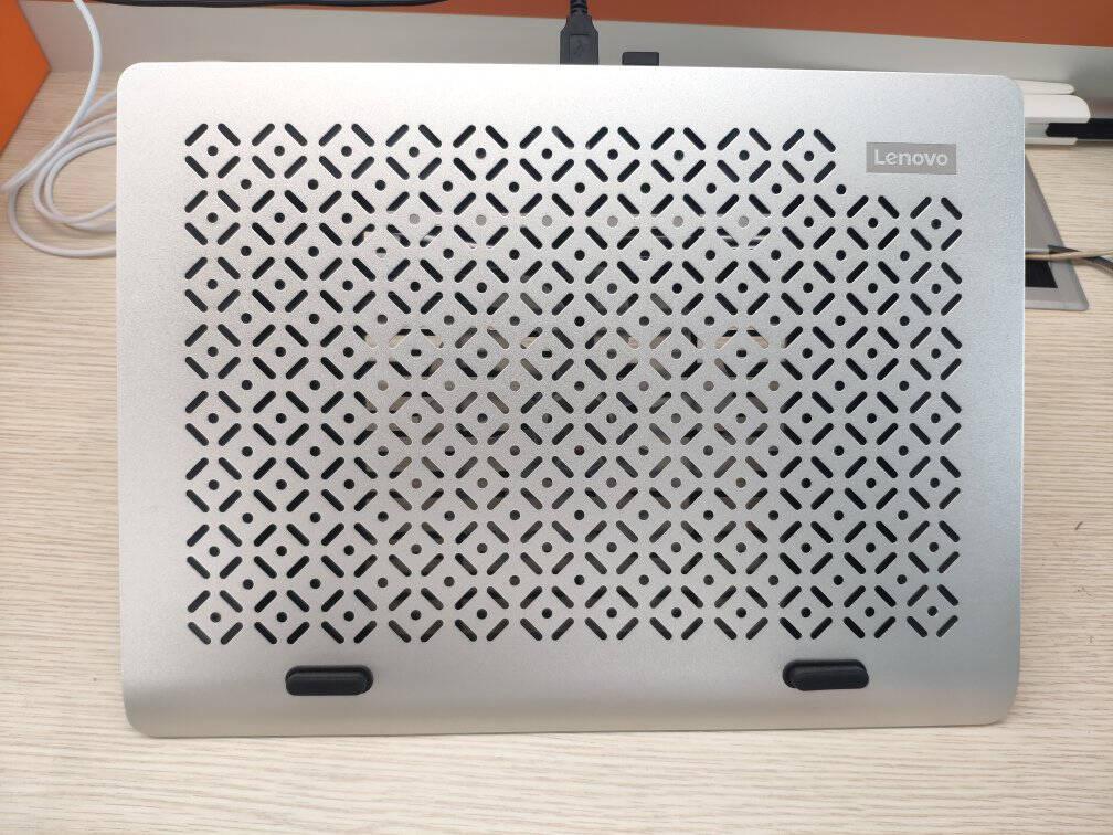 联想(Lenovo)笔记本散热器笔记本支架游戏本散热器6挡调节小新拯救者铝合金支架笔记本配件S20月光银