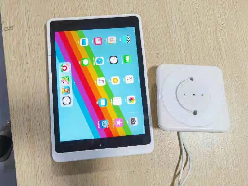 【EMONITA】适用于ipad9.7英寸白色底座无线挂墙充电支架智能家居中控磁力固定墙面白色