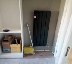 金旗舰钢制框背暖气片家用水暖毛巾架卫浴卫生间散热器