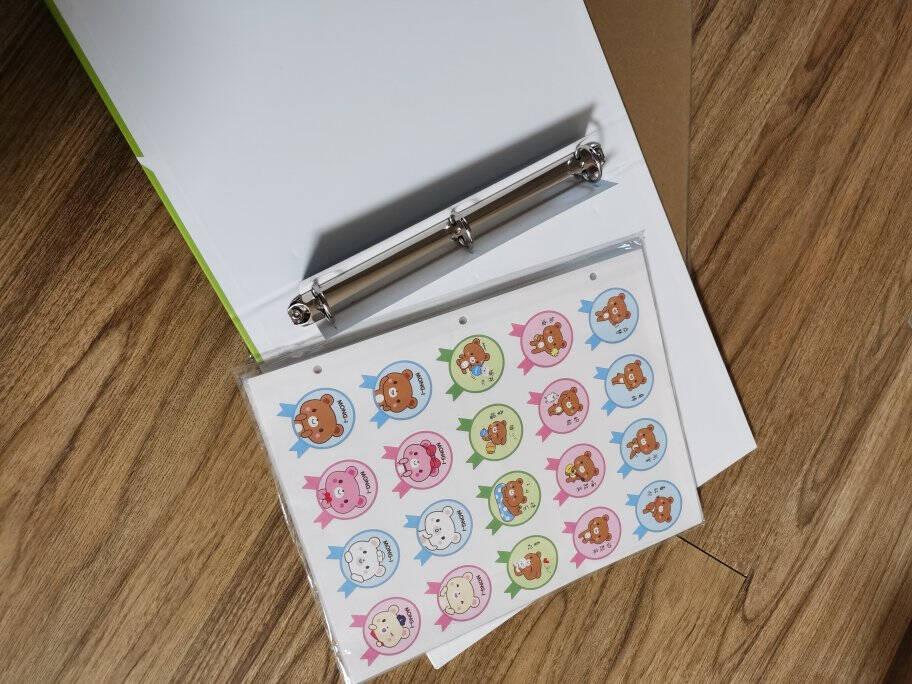 得力(deli)小学生奖状证书收集册儿童大号A4图画作品保存活页纪念册生日礼物相册33309