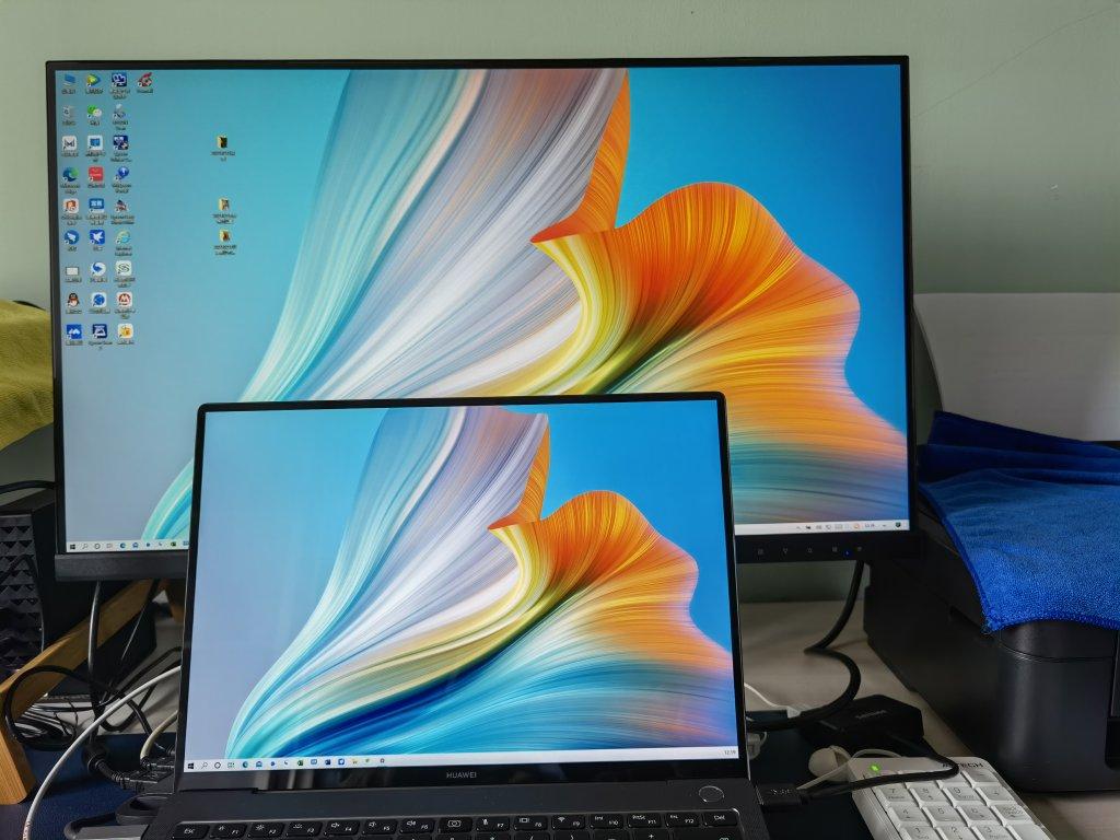 拾光纪27英寸2K显示器,Type-C接口45W反向快充