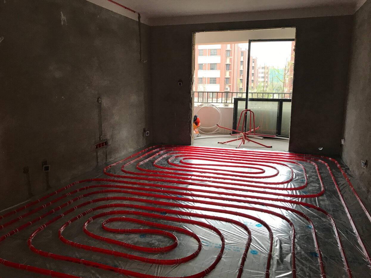 德国威仑(Vainll)地暖管材PE-RT阻氧管EVOH水地暖施工盘管进口原料PERT红色管20*2.0(300米/卷)