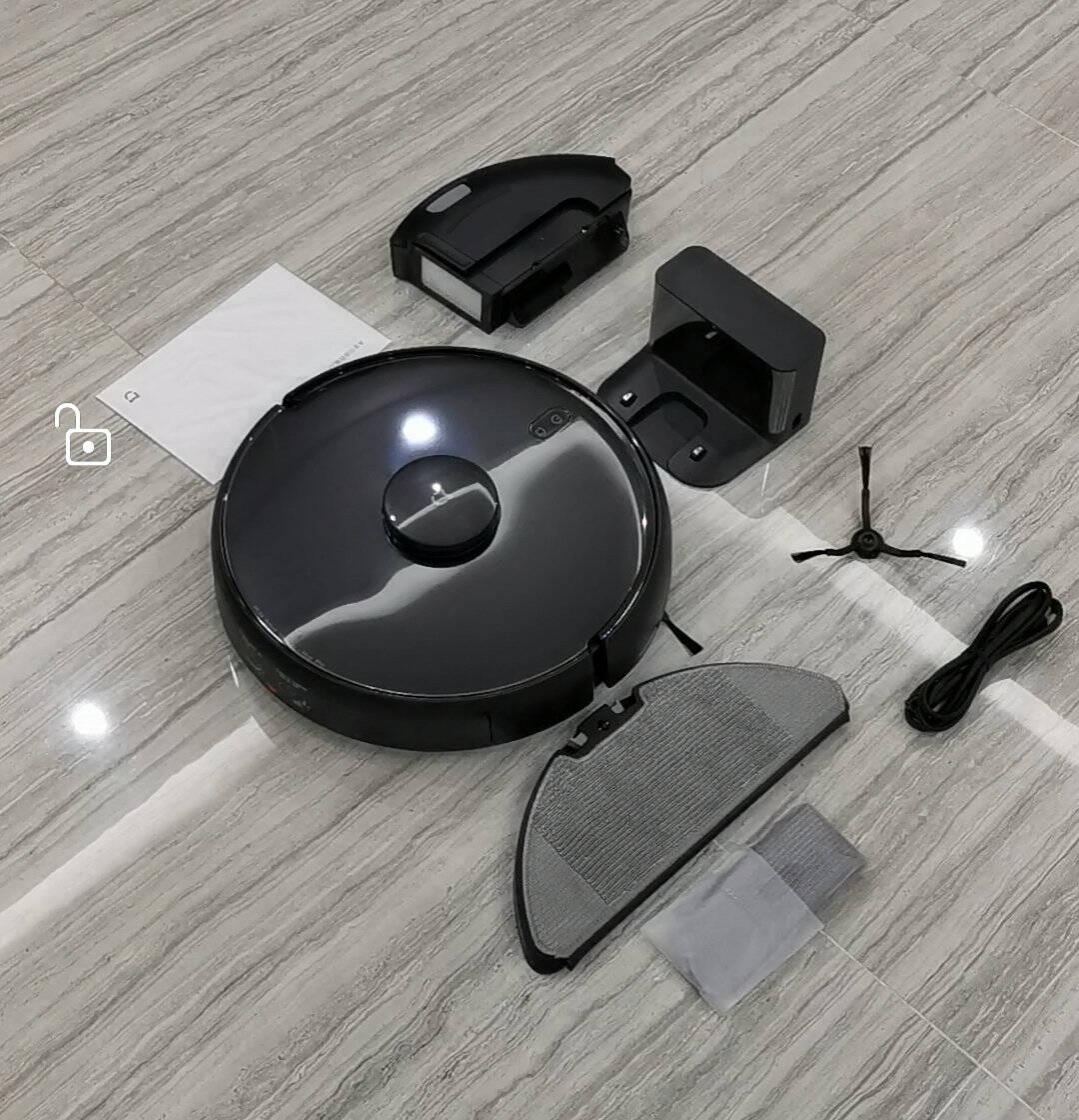 米家小米超薄扫拖机器人扫拖一体机拖地机擦地机吸尘器家用5.5cm超薄3D避障3D视觉导航