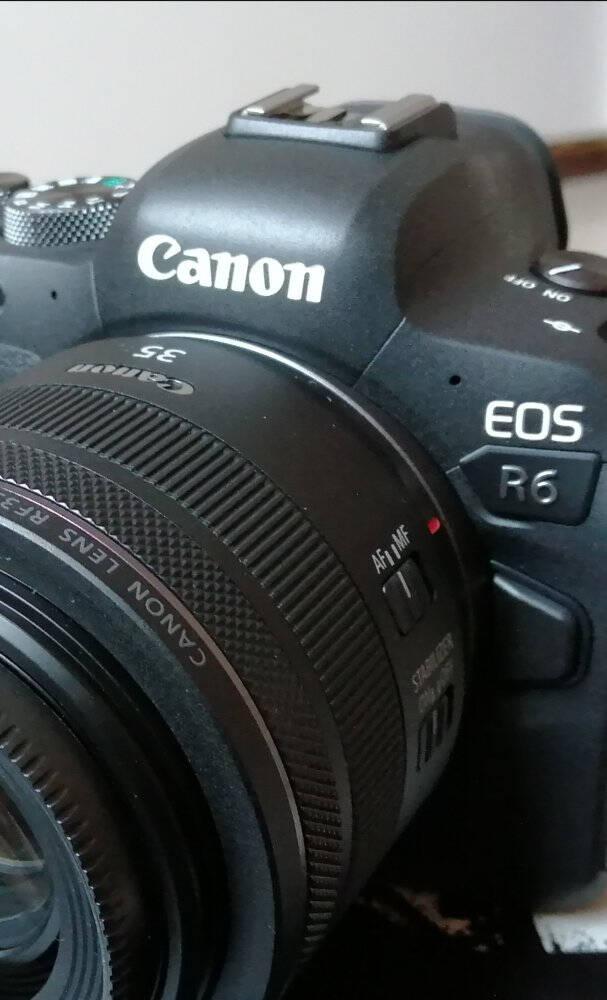 【现货速发】(CANON)佳能EOSR6全画幅专业级微单数码照相机4K视频摄像Vlog相机EOSR6+RF50/1.8STM套餐三