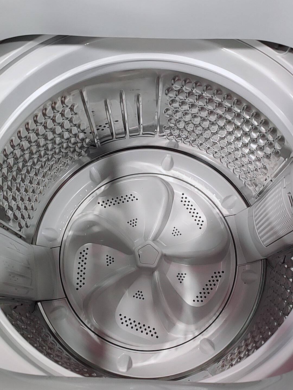 美菱(MELING)10公斤全自动波轮洗衣机一键智洗多程序控制大容量省水省电下排水灰色B100M500GX