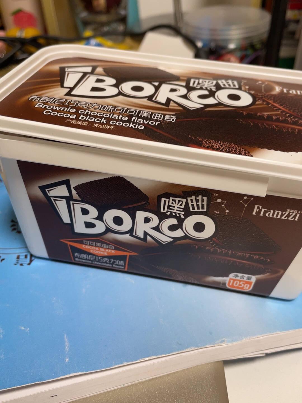 法丽兹饼干糕点布朗尼巧克力味可可黑曲奇105g