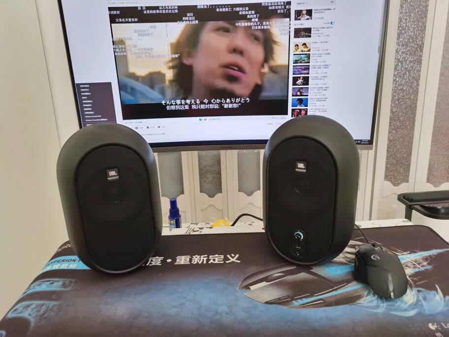 JBL104音响音箱家庭影院多媒体音箱HiFi音响游戏音箱桌面音响蓝牙音箱电脑音响监听箱