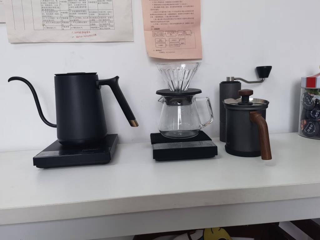 泰摩timemore热销款手冲套装组合温控手冲壶+栗子C磨豆机+咖啡秤+滤杯+分享壶