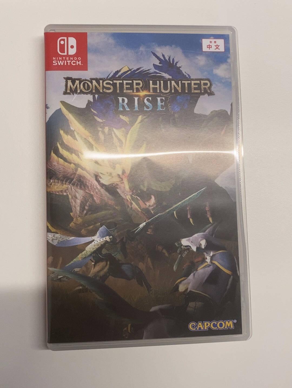 (Nintendo)SwitchNS家用游戏游戏卡带顺丰怪物猎人崛起猛汉特典版中文现货