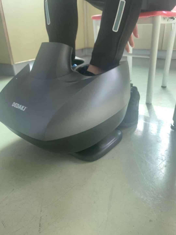 德国DEDAKJ足疗机脚底按摩器足部刮痧拉筋全包裹腿部按摩双滚轮摇摆拉筋足疗机-HF73