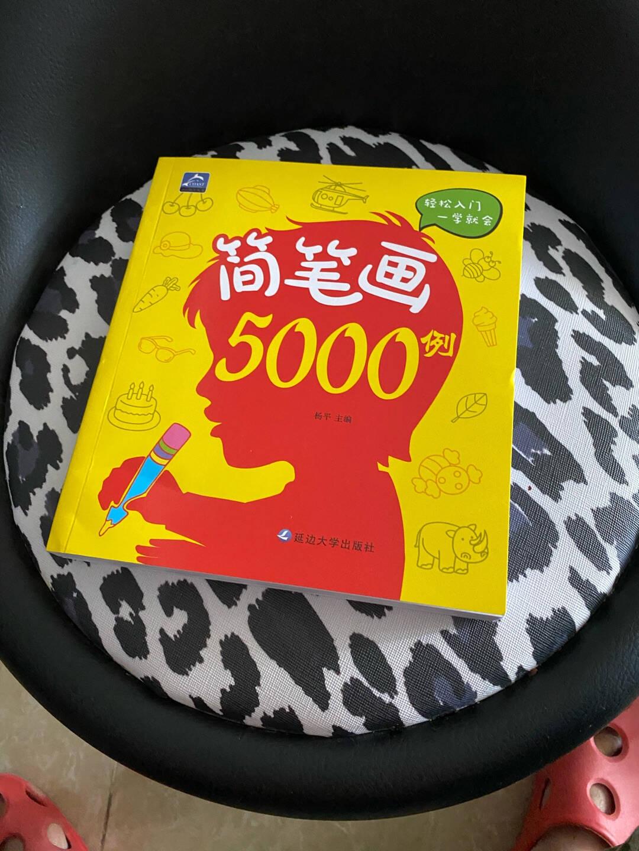 简笔画5000例儿童绘画手绘本大全0-12岁幼儿园学画画教材书启蒙入门宝宝图画书涂色书