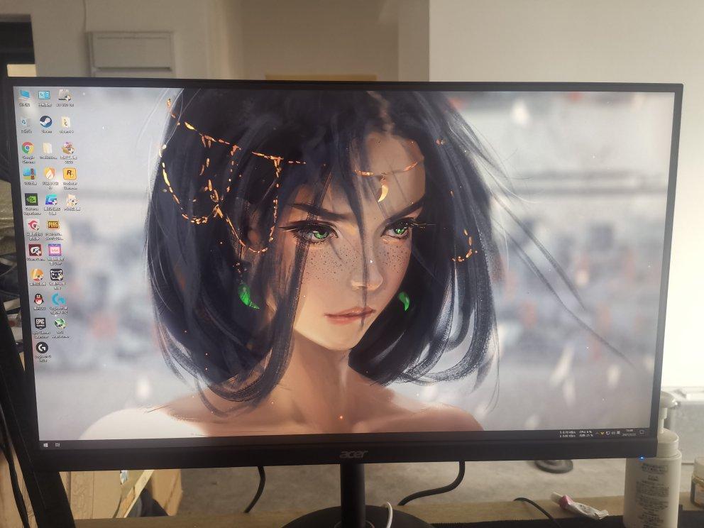 宏碁27英寸2K电竞显示器,170Hz超频1ms适合游戏用