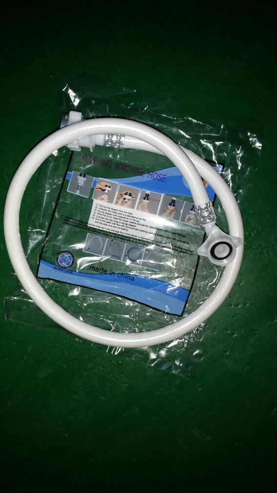 多奈屋洗衣机进水管加长接水管上水管延长软管适用海尔/美的/松下/小天鹅/TCL/康佳/长虹1米