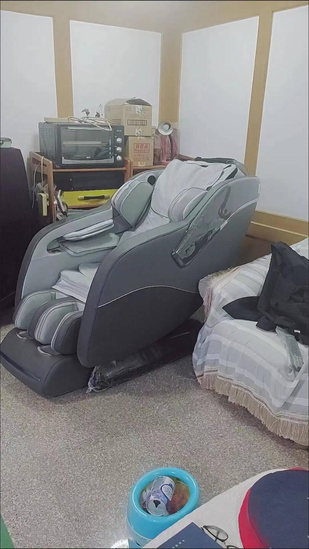 【今日仅4890】机械手按摩椅家用全身豪华全自动4D智能太空舱轨道电动沙发椅子颈椎腰腿部老人司普莱得【灰色】语音/触摸双控+全身按摩+头部+音乐+热敷