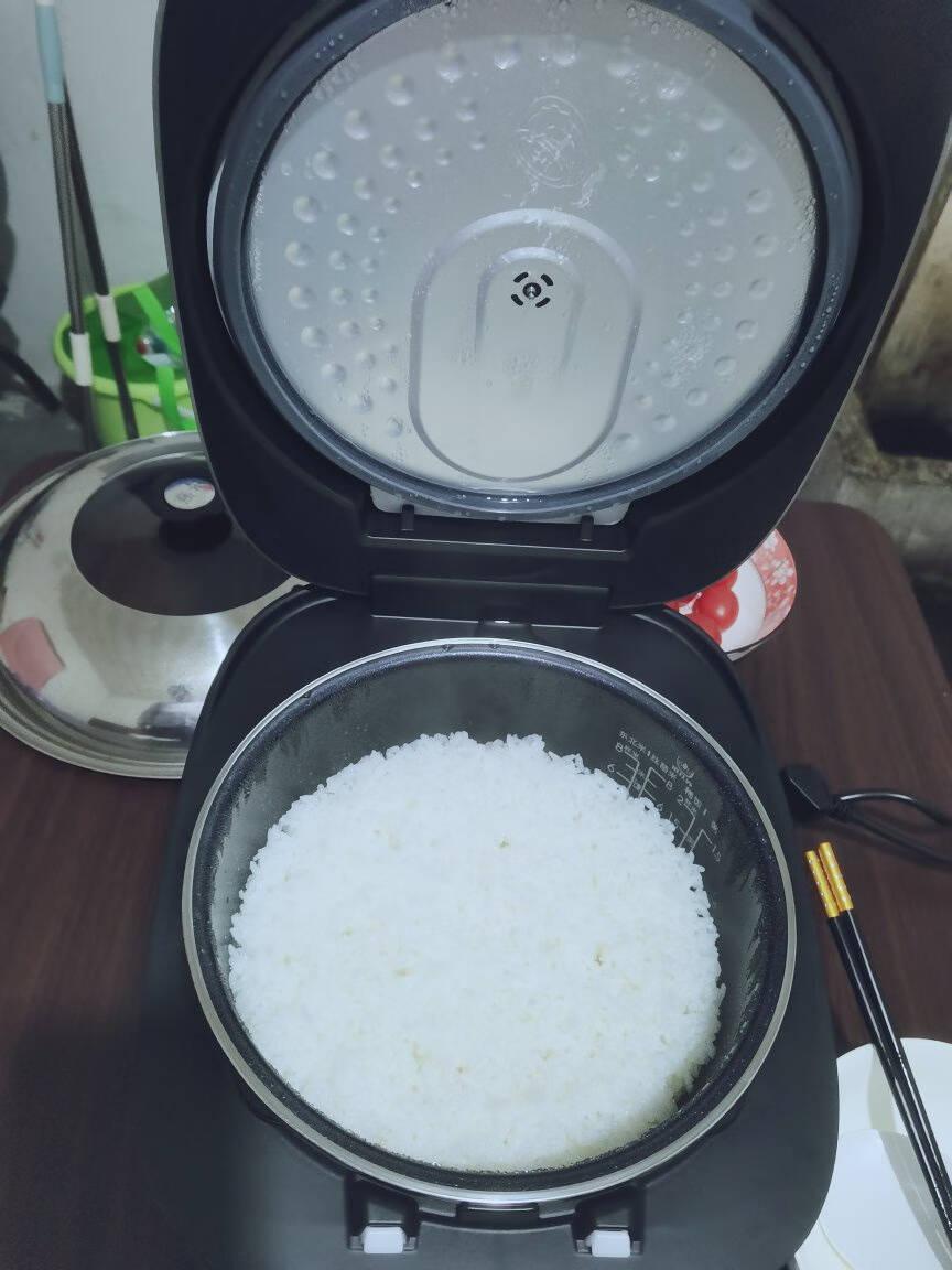 美的(Midea)电饭煲一级能效IH电磁加热家用5升大容量智能预约多功能电饭锅MB-FB50S701(推荐2-8人)