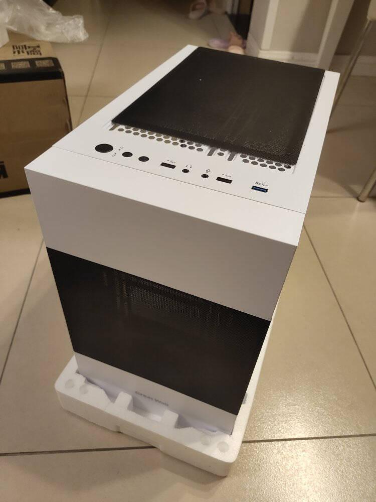 长城(GreatWall)阿基米德KM-1W白色机箱+额定850W长城GX金牌全模组电源机箱电源套装