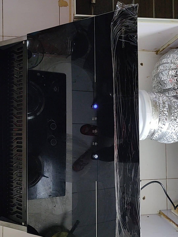 长虹侧吸式抽油烟机壁挂式近吸油烟机智能开合自清洗厨动房家用吸油烟机21立方大吸力一级能效K02