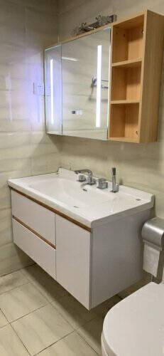 顾家家居(KUKA)浴室柜洗脸盆组合浴室柜组合套装现代简约洗手台组合G-06244B080
