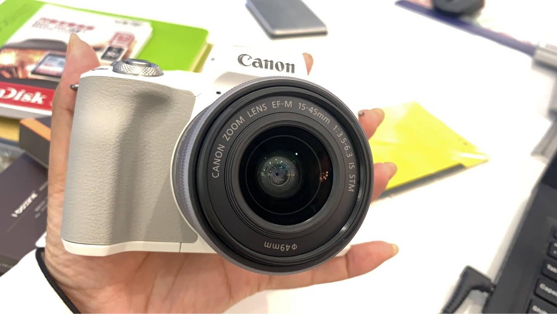 佳能m50二代微单相机2代数码相机自拍美颜微单套机白色Vlogm50二代黑色15-45套机套餐二【32G卡晒单赠备用电池套装】