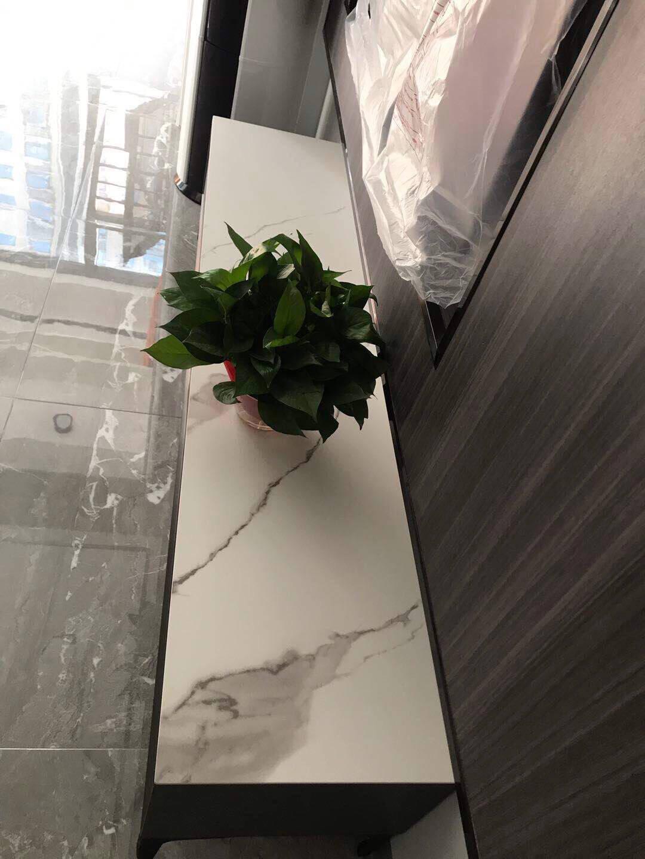 怡倩电视柜意式极简岩板电视柜现代简约小户型轻奢客厅茶几电视柜组合客厅地柜家具1.8米电视柜